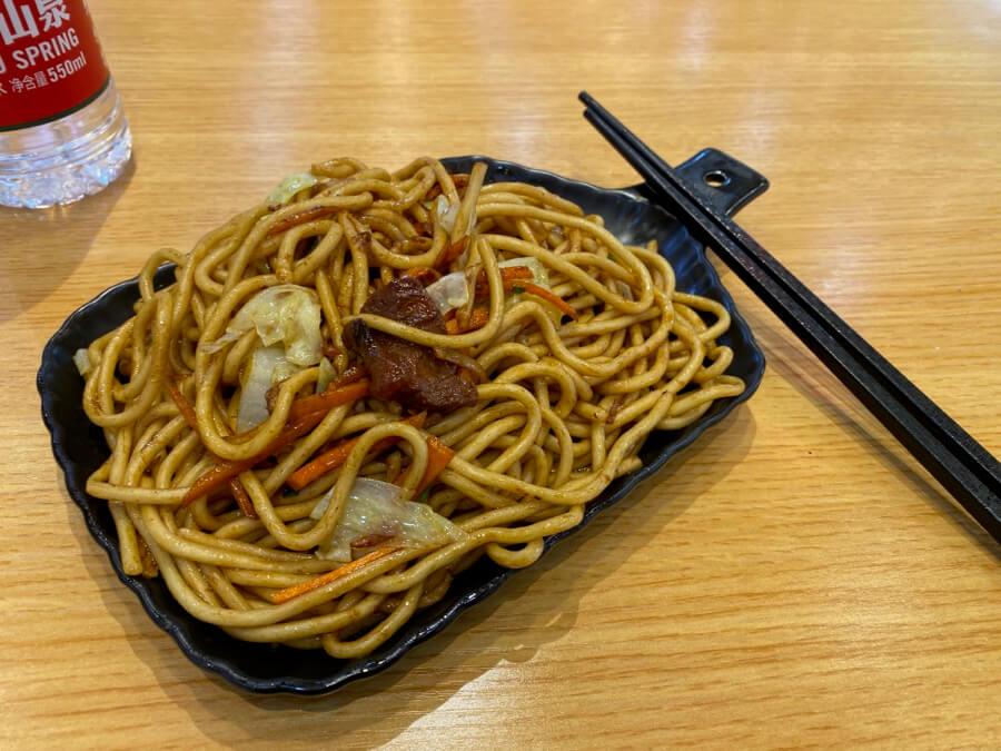 Noodles en Shanghai