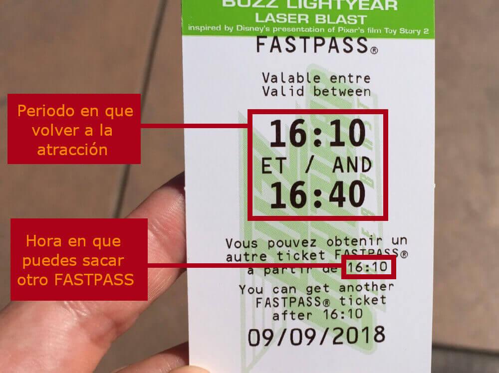 Así funciona el FASTPASS en Disneyland Paris