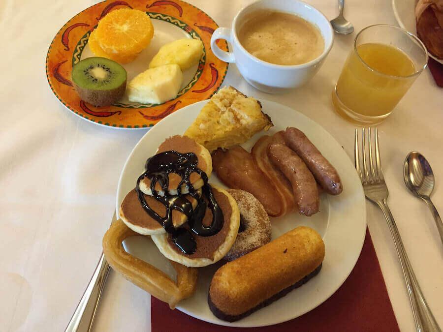Desayuno Buffet en el Hotel el Paso de PortAventura