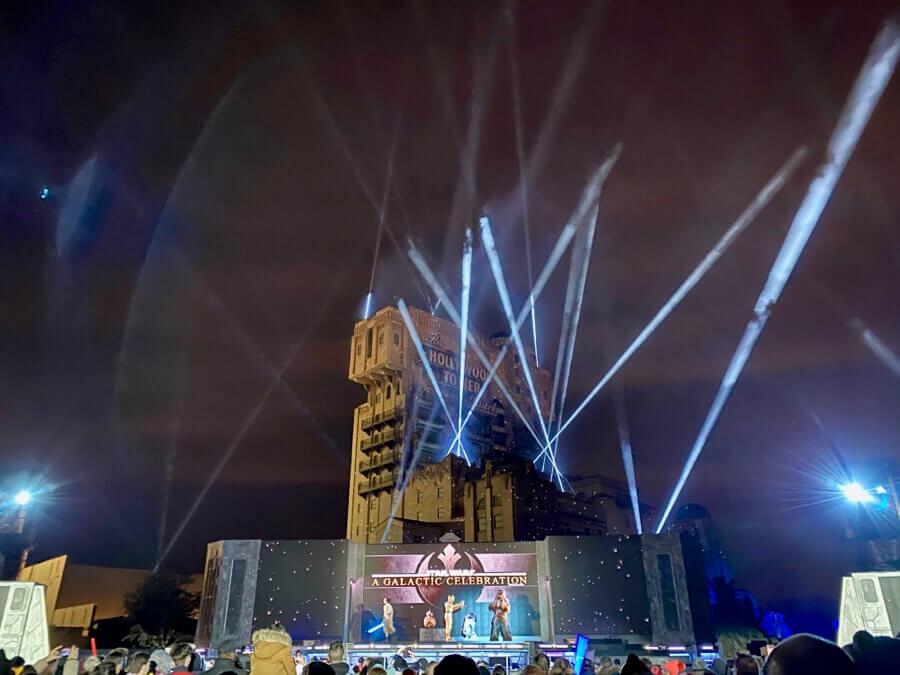 Disneyland Paris Leyendas de la Fuerza - A Galactic Celebration mejores vistas