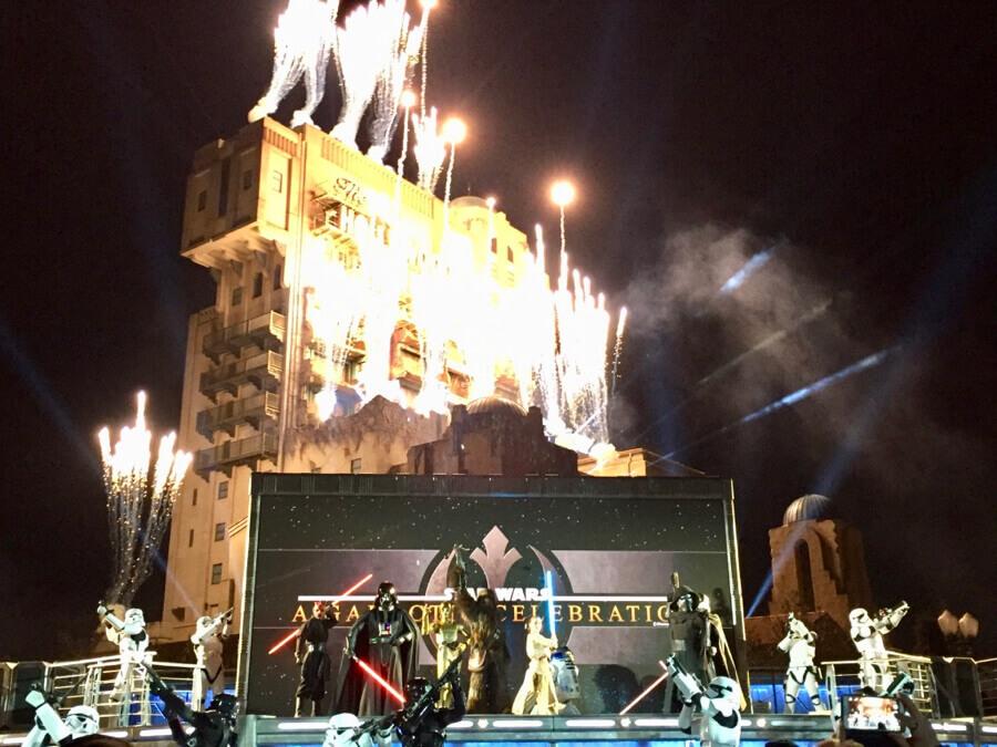 Disneyland Paris Leyendas de la Fuerza - A Galactic Celebration