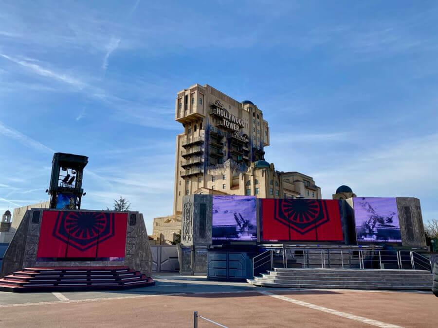 Disneyland Paris Leyendas de la Fuerza - Escenario