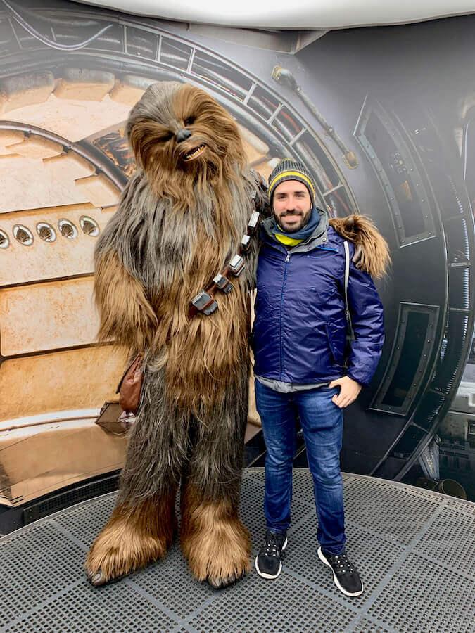 Disneyland Paris Leyendas de la Fuerza Star Wars - Encuentro con Chewbacca