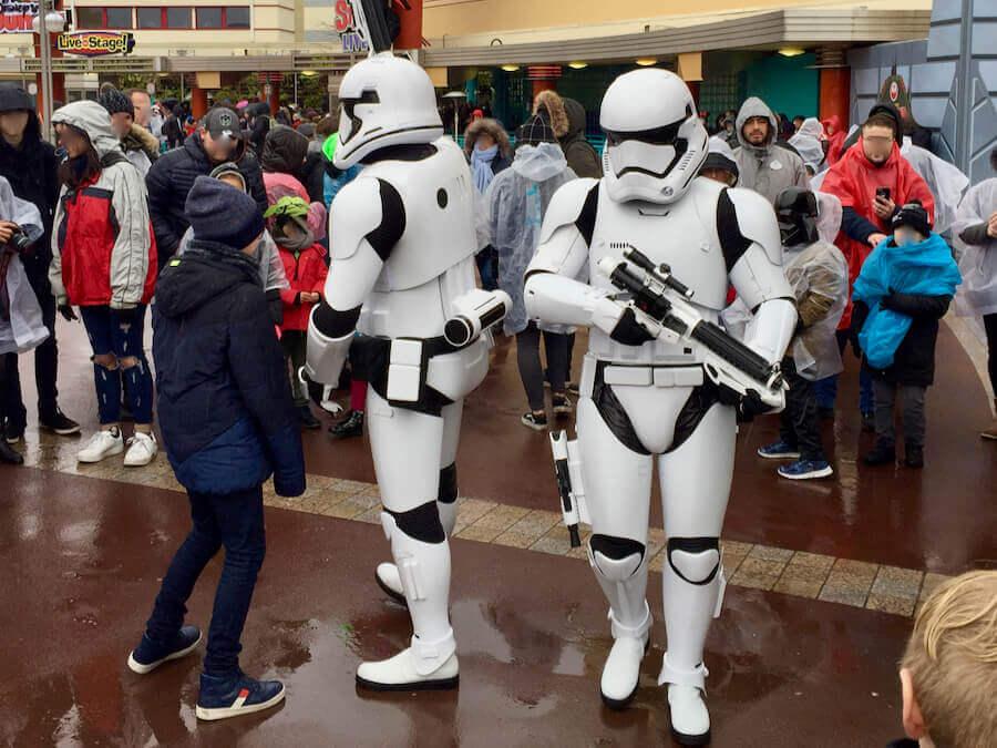 Disneyland Paris Leyendas de la Fuerza Star Wars - Stormtroopers