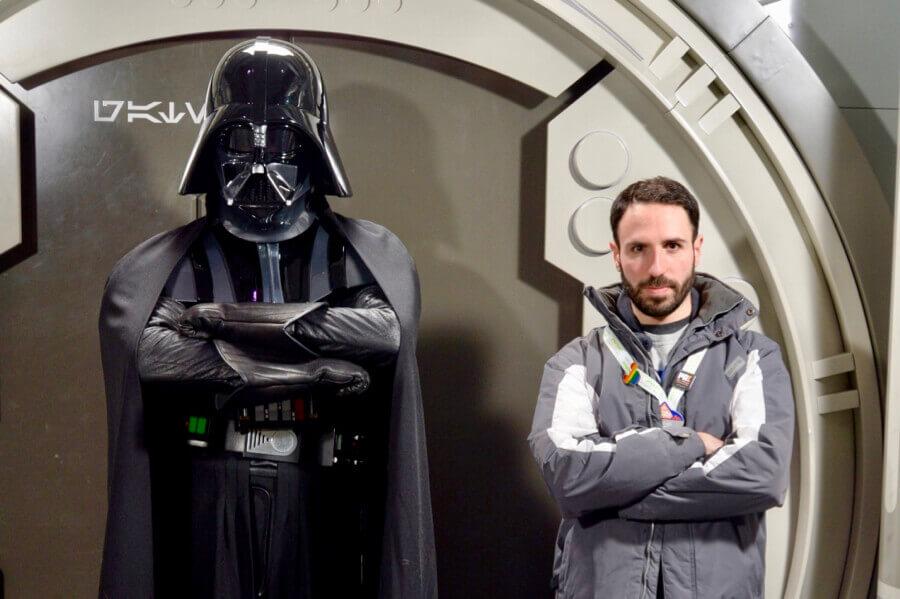 Disneyland Paris Leyendas de la Fuerza Star Wars - encuentro con Darth Vader