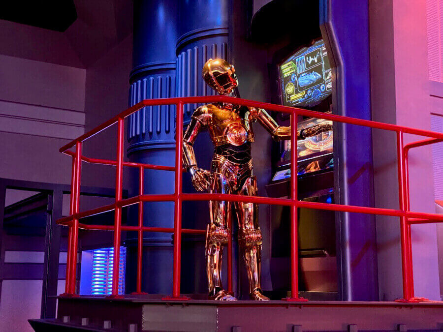 Disneyland Paris Star Tours C-3PO