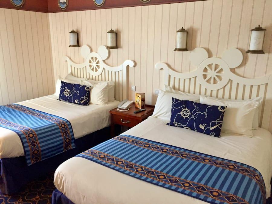 Habitación en el hotel Newport Bay Club de Disneyland Paris