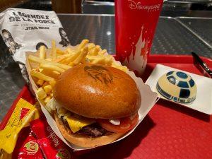 Leyendas de la Fuerza - Menu En Coulisse hamburguesa Chewbacca