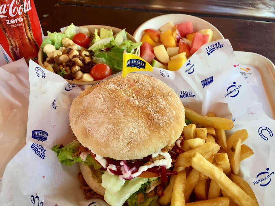 Menu Restaurante Old Steak House PortAventura