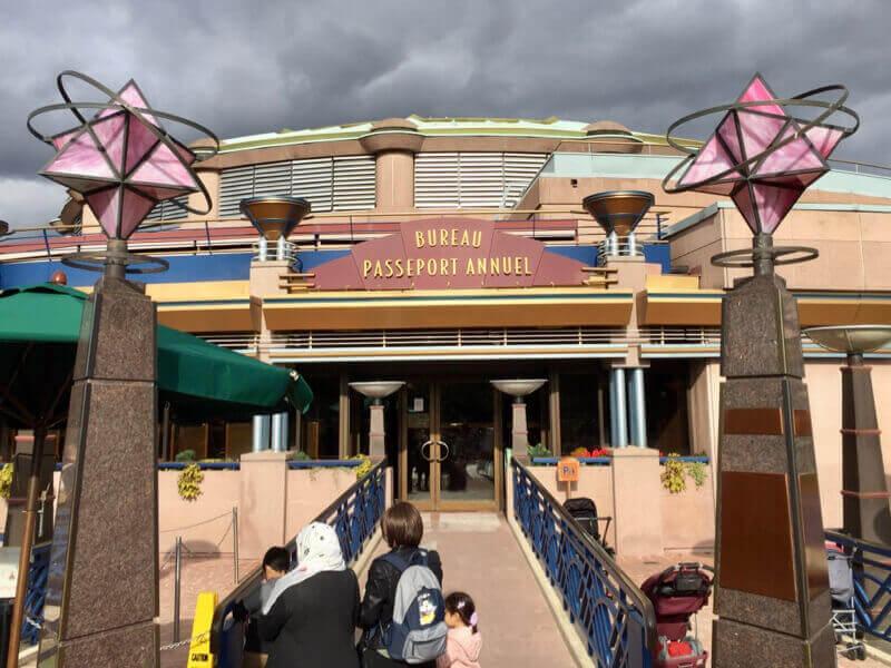 Oficina de Pases Anuales de Disneyland Paris en Discoveryland