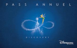 Pase Anual Discovery - Disneyland Paris