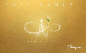 Pase Anual Magic Plus - Disneyland Paris