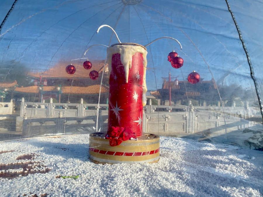 PortAventura Navidad - La Burbuja de los Deseos en China
