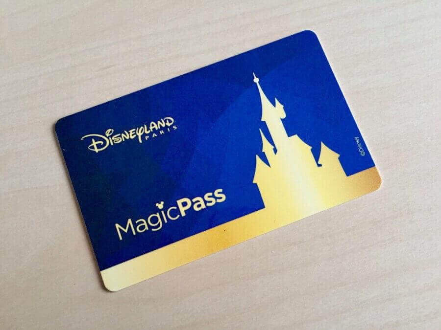 Tarjeta MagicPass de los hoteles de Disneyland Paris