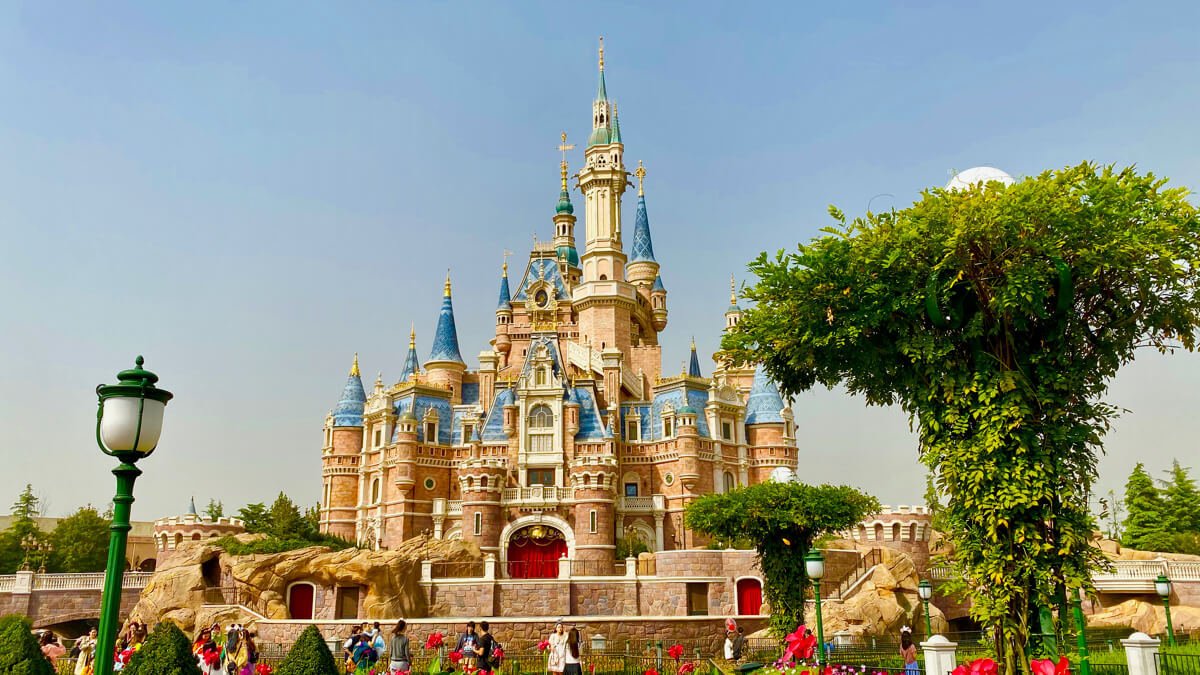 Castillo Shanghai Disneyland