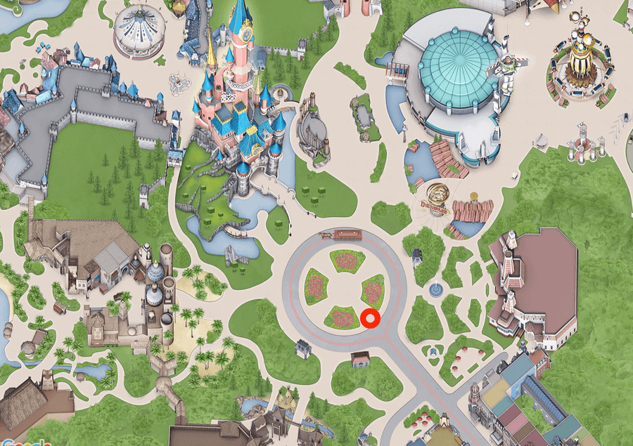 Mickeys Halloween Celebration - Mapa con el mejor sitio