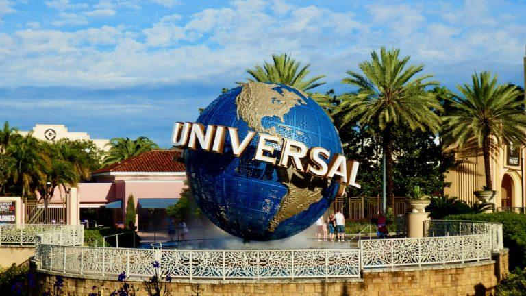 Bola del mundo de Universal Orlando Resort en Florida