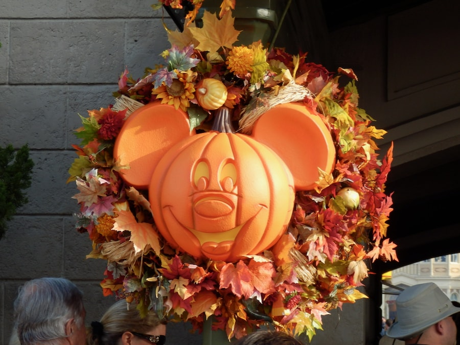 Calabaza de Mickey en Magic Kingdom Halloween