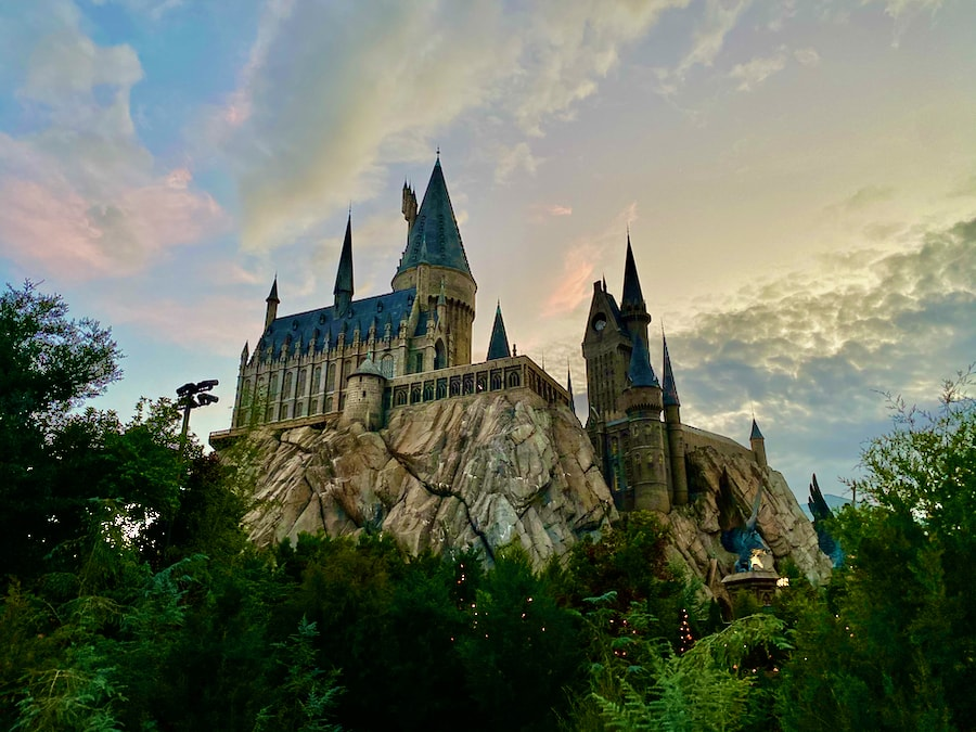 Castillo de Hogwarts en Islands of Adventure