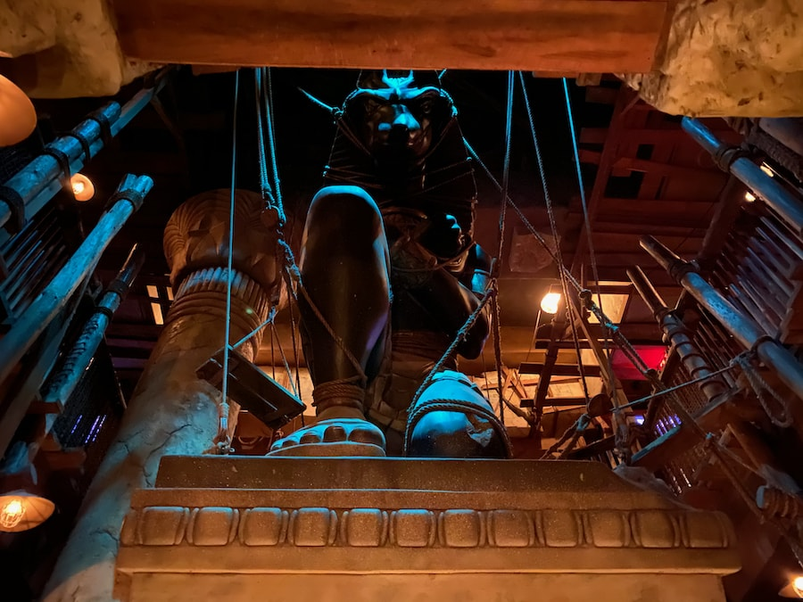 Colas de The Mummy en Universal Studios Florida