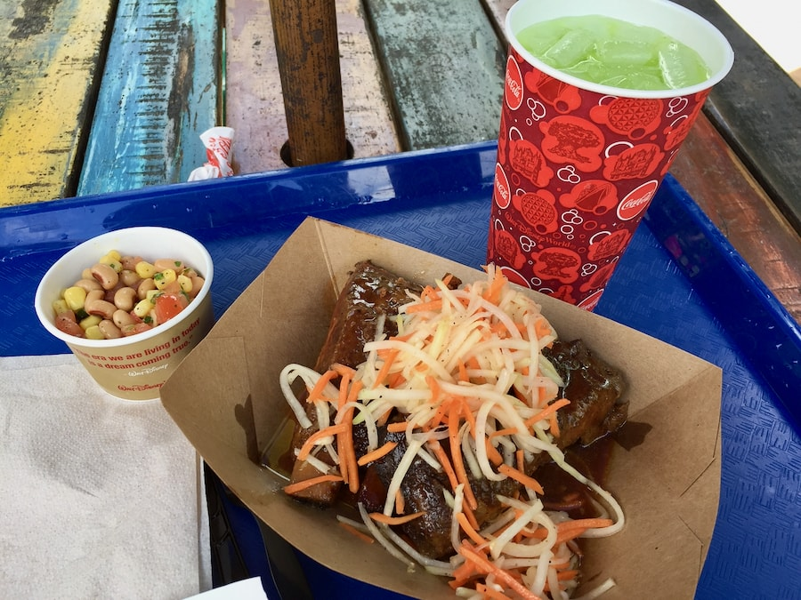 Comida de Harambe Market en Animal Kingdom