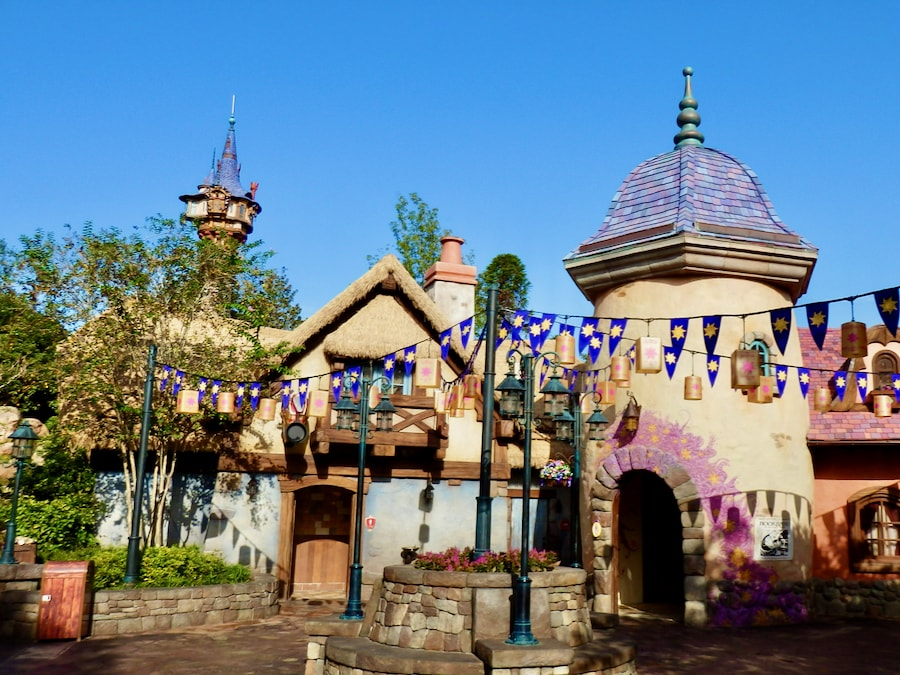 Edificios de Enredados Tangled en Magic Kingdom