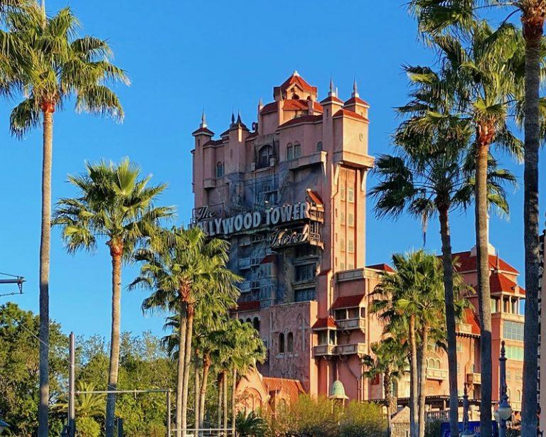 El Hollywood Tower of Terror de Hollywood Studios en Walt Disney World