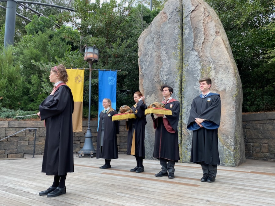 Espectáculo de Coro de Ranas en Hogsmeade de Islands of Adventure