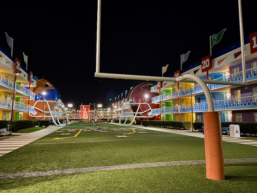 Exterior del hotel All Stars Sports de Walt Disney World