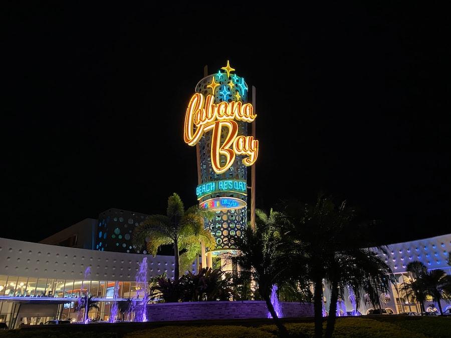 Exterior del hotel Cabana Bay Beach Resort en Universal Orlando