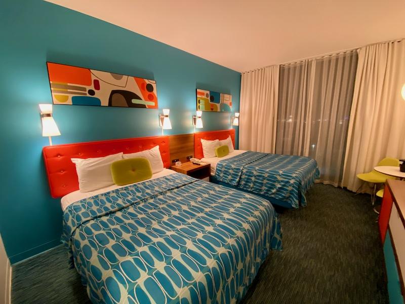 Habitación del hotel Cabana Bay Beach Resort de Universal Orlando