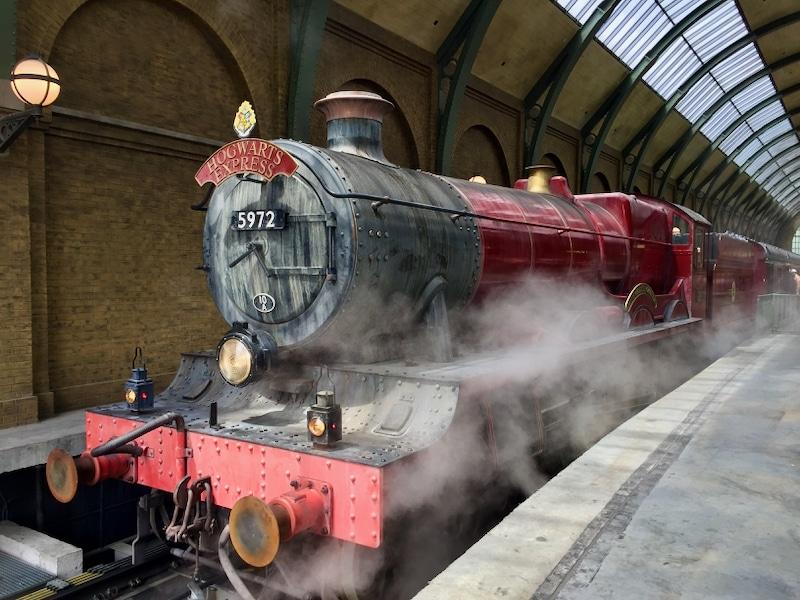 Hogwarts Express el tren de Harry Potter en Universal Orlando