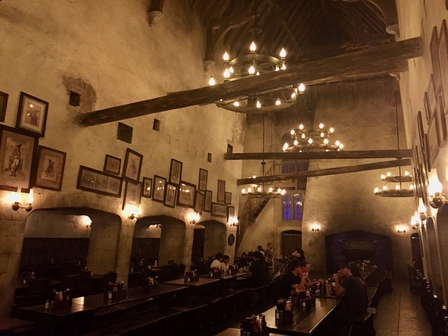 Interior del Caldero Chorreante en Universal Studios Florida