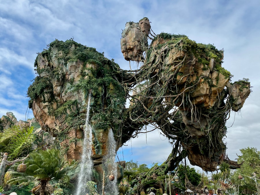 Montañas flotantes de Pandora the World of Avatar en Animal Kingdom