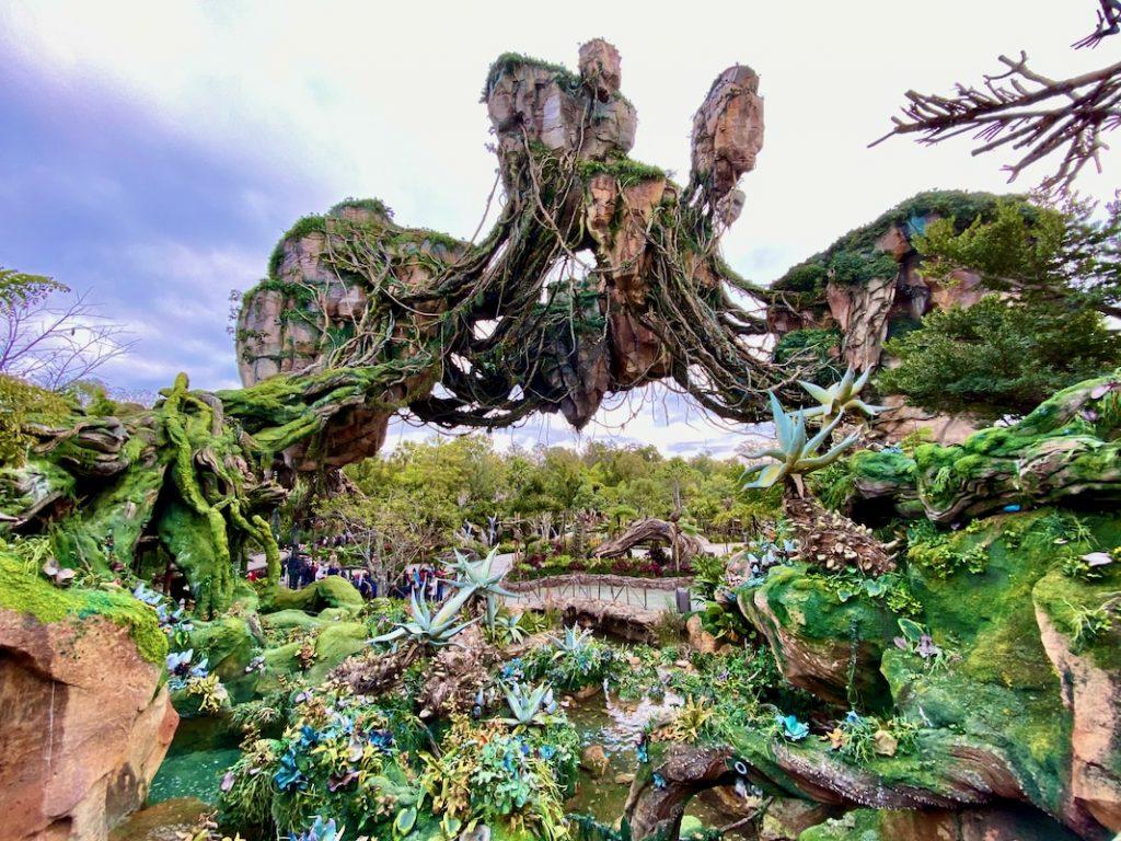 Pandora The World of Avatar en Animal Kingdom de Walt Disney World