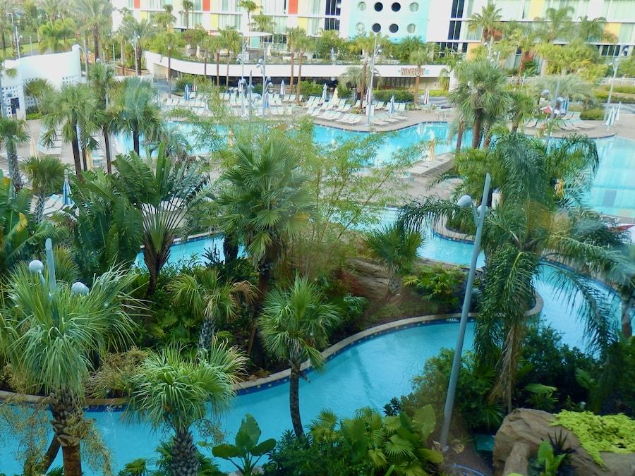 Piscinas del hotel Cabana Bay en Universal Orlando