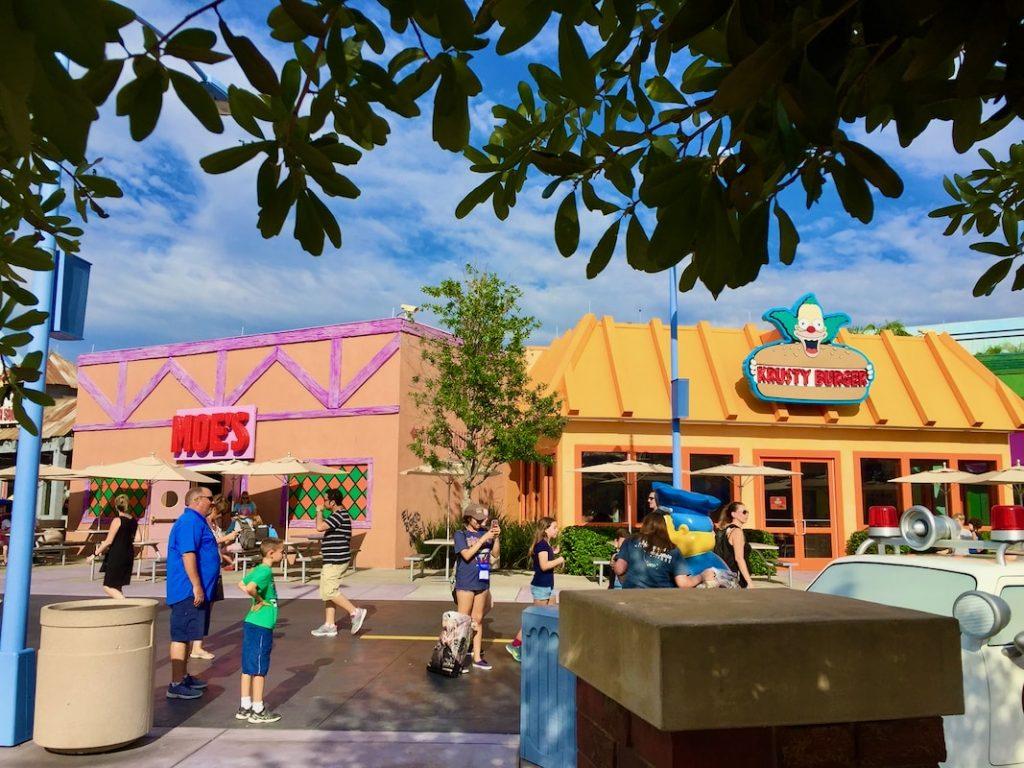 Springfield de los Simpsons en Universal Orlando