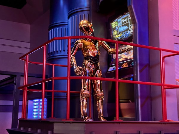 C-3PO de Star Wars en Star Tours de Disneyland Paris