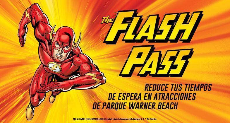 Pase Flash Pass Parque Warner