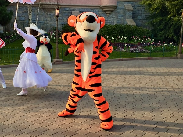 Tigger en Disney Stars on Parade de Disneyland Paris