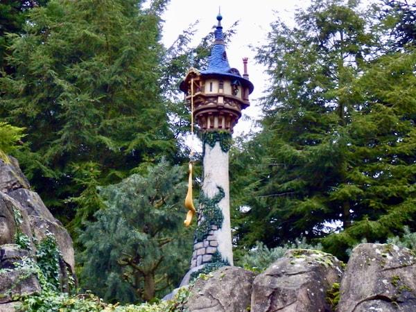 Torre de Rapunzel de Enredados en Disneyland Paris