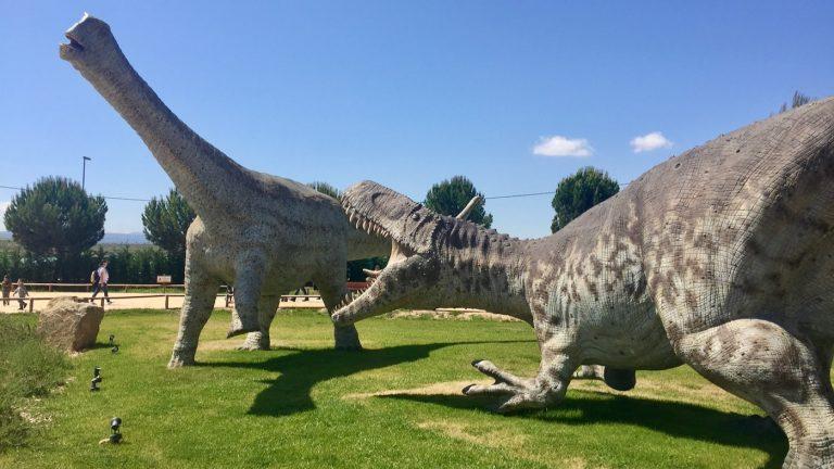Dinosaurios de Dinópolis Teruel