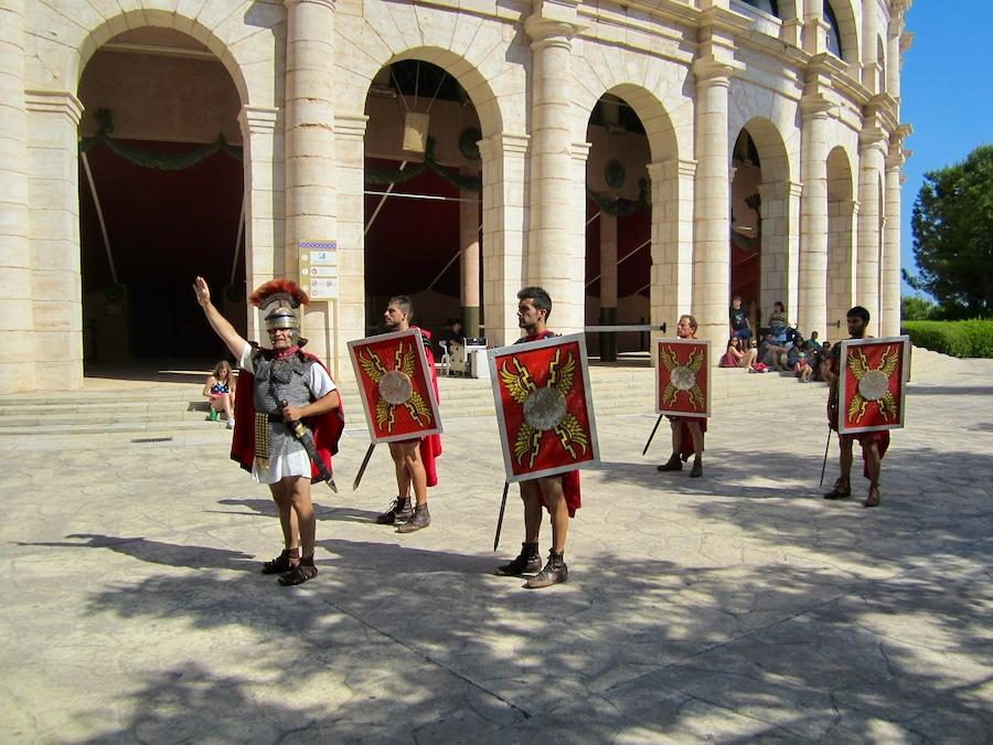Espectáculo romano Terra Mítica