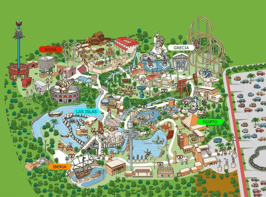 Mapa Terra Mítica