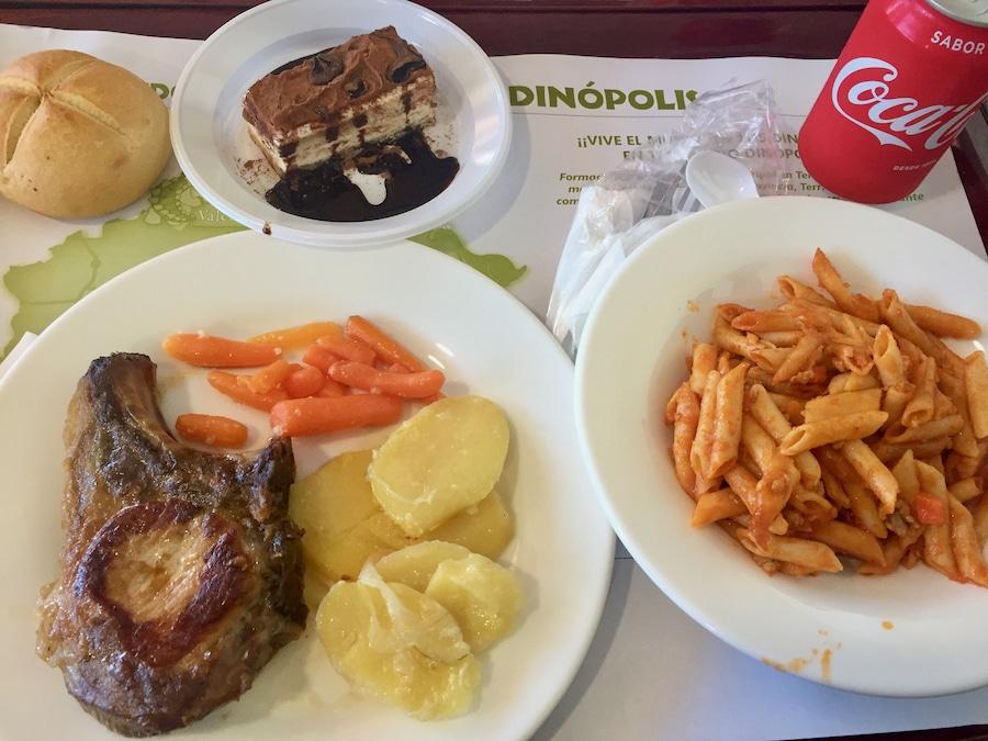 Menú restaurante Territorium Dinópolis Teruel