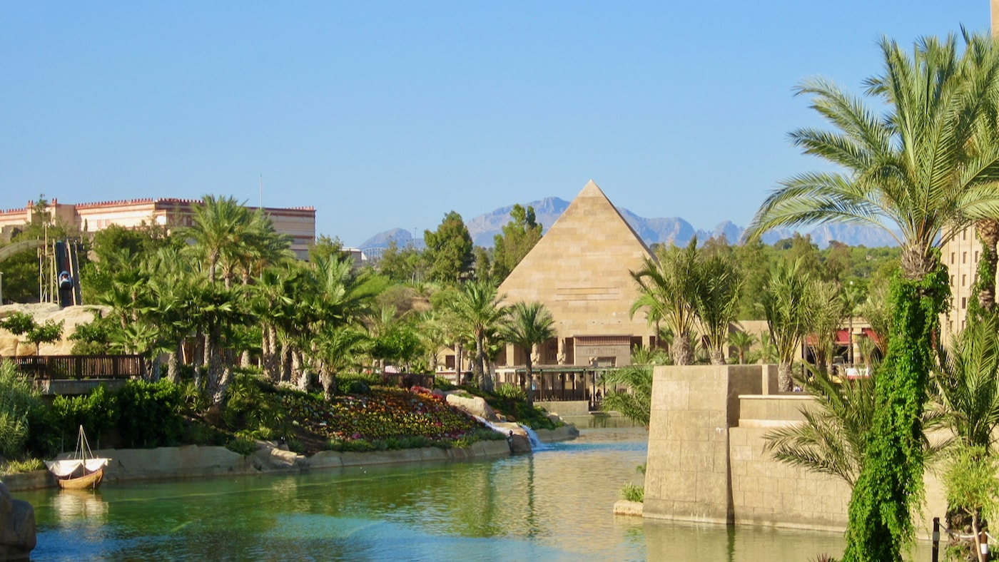 Vista de Egipto en Terra Mítica