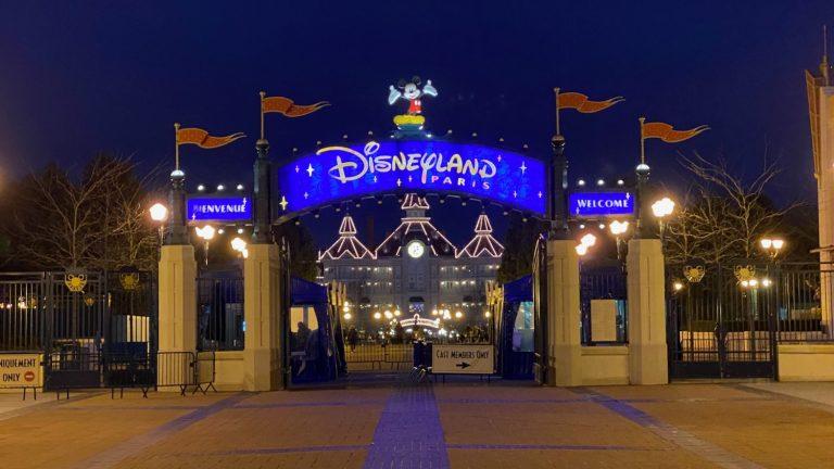 Control de acceso a la entrada de Disneyland Paris