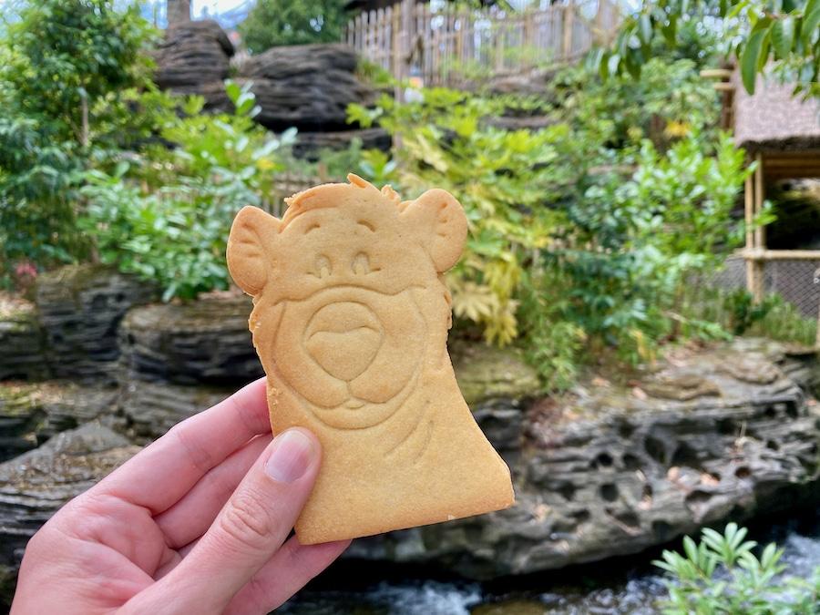 Galleta de Baloo de la Temporada del Rey León y de la Selva de Disneyland Paris