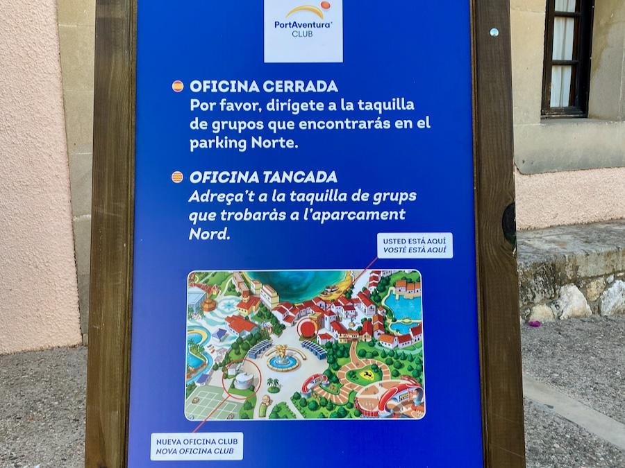 Nueva ubicación de la oficina del Club PortAventura de pases anuales