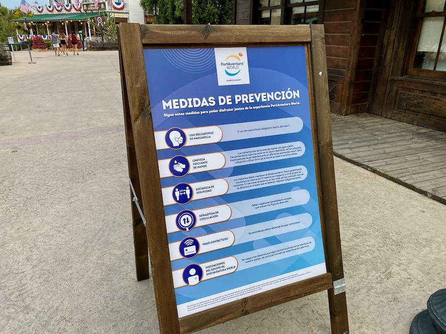 PortAventura medidas de prevención anti-COVID